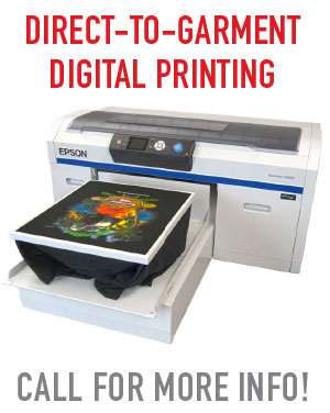 Direct to garment digital printing in mesa, gilbert, chandler AZ