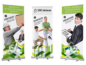 Trade show graphics and display materials design and print in Phoenix, tempe, mesa AZ