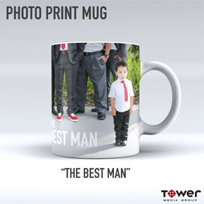 Photo print mugs, full color sublimation printing on mugs, bags, shirts and more. Professional printing company in Mesa, Gilbert, Chadler AZ area.