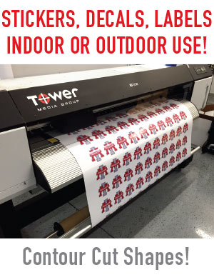 Professional sticker and decal printing in Mesa Arizona, Serving the entier valley!