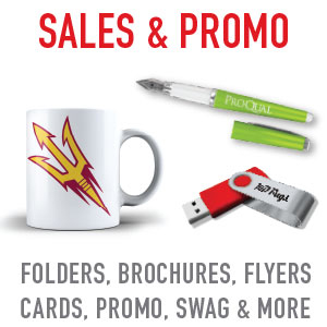 Local Arizona source for promotional items. Imprint your logo on a variety of pens, mugs, mousepads, usb drives and other advertising specialty items and logo SWAG.